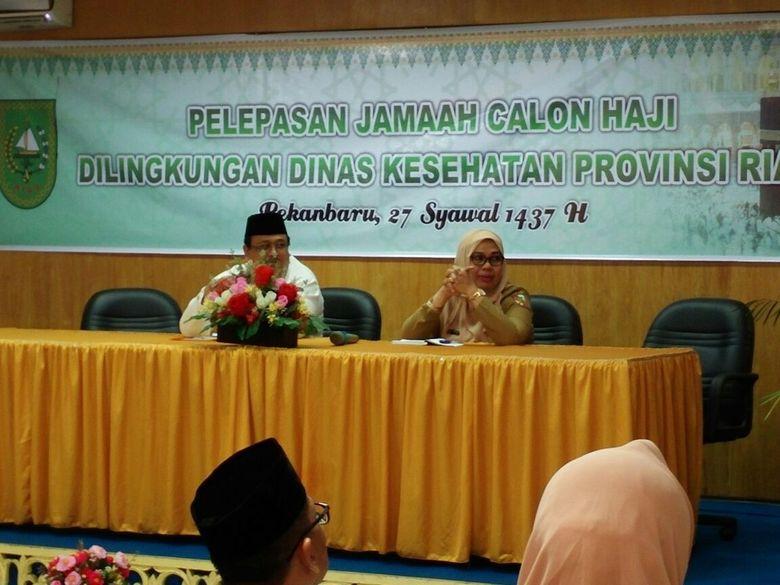 39 Persen Calhaj asal Riau Berusia Lanjut, Petugas Haji Diminta Lebih Perhatian