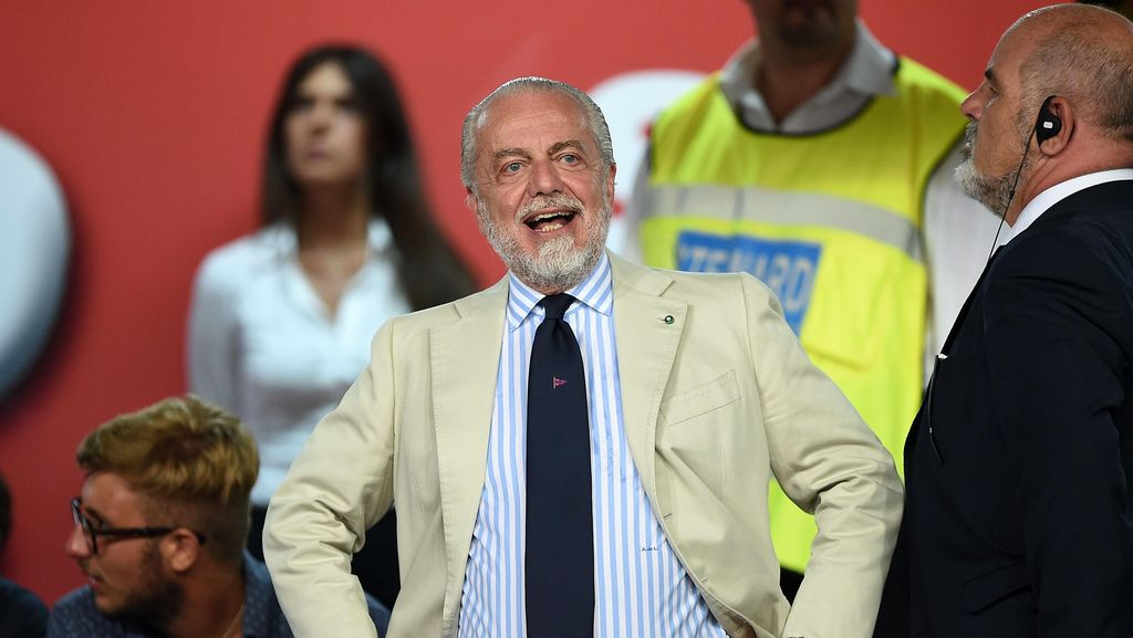De Laurentiis: Napoli Bakal Datangkan Pemain Top