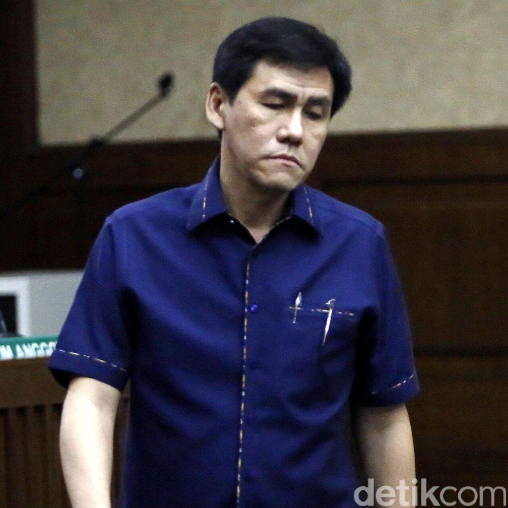 Eks Presdir Agung Podomoro Ariesman Widjaja akan Divonis Siang Nanti