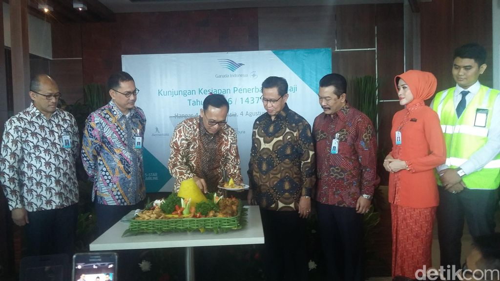 Ini Sebab Garuda Indonesia Angkut Jamaah Haji Lebih Sedikit dari Tahun Lalu