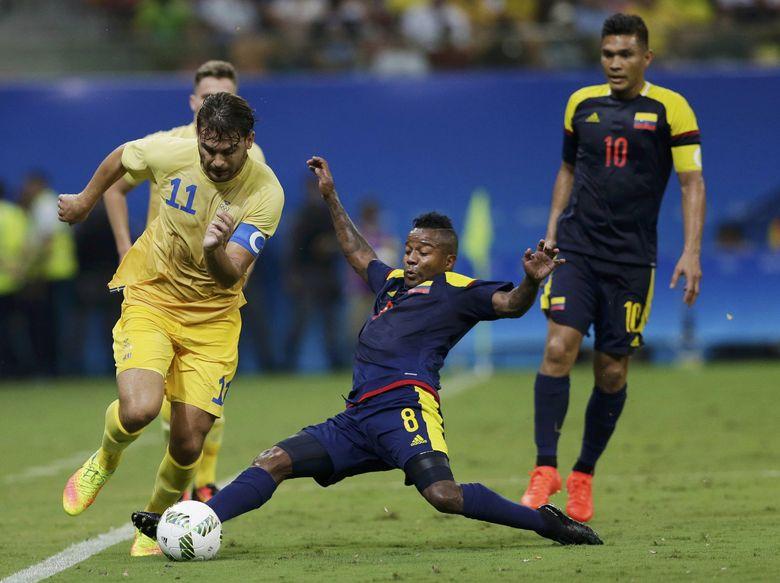 Swedia Berimbang dengan Kolombia 2-2