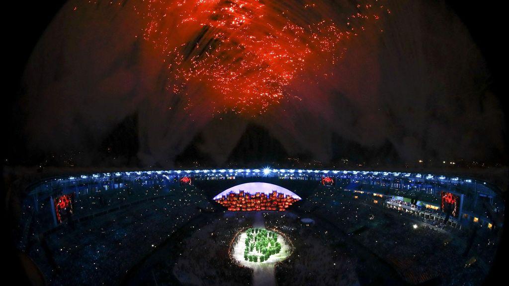 Meriahnya Pembukaan Olimpiade 2016