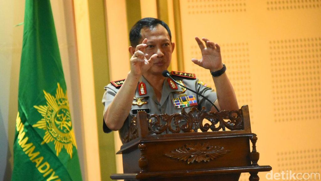 Kapolri Beri Rekomendasi Pansus RUU Terorisme Undang Eks Napi Teroris