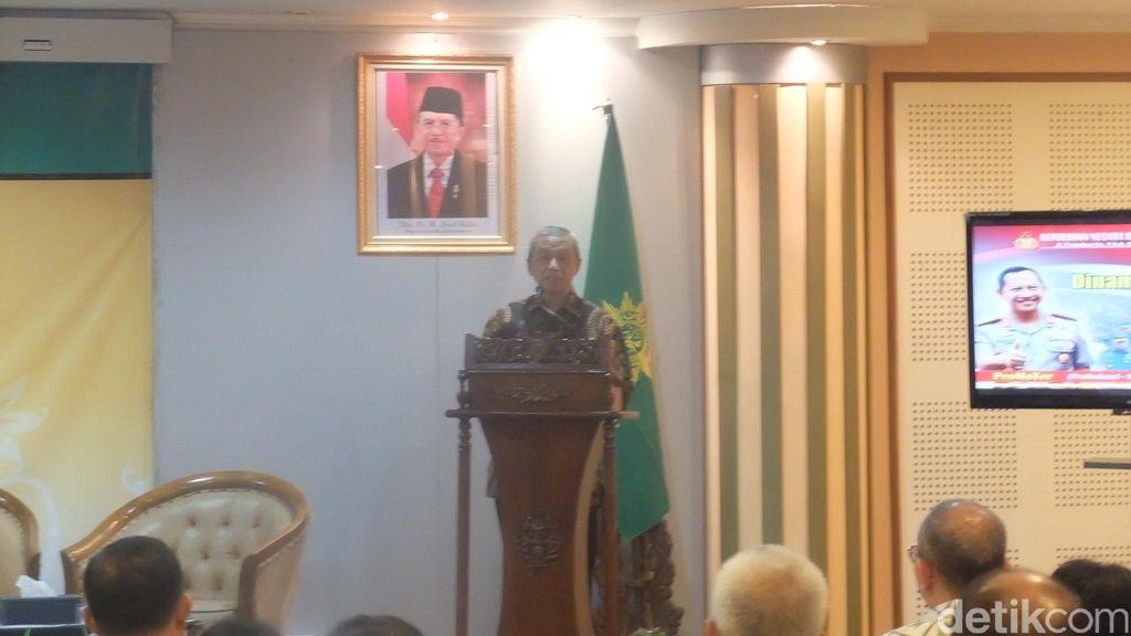 PP Muhammadiyah Khawatir akan Pelibatan TNI dalam Pemberantasan Terorisme