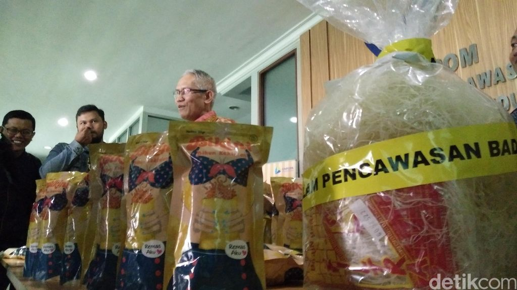 BBPOM Bandung: Produsen Snack Bikini Kena Sanksi Administratif