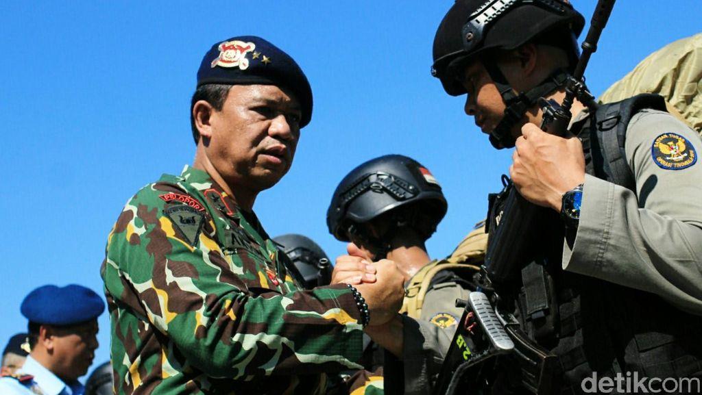 Tumpas Pengikut Santoso, Polda Sulsel Kirim 105 Personel Brimob ke Poso