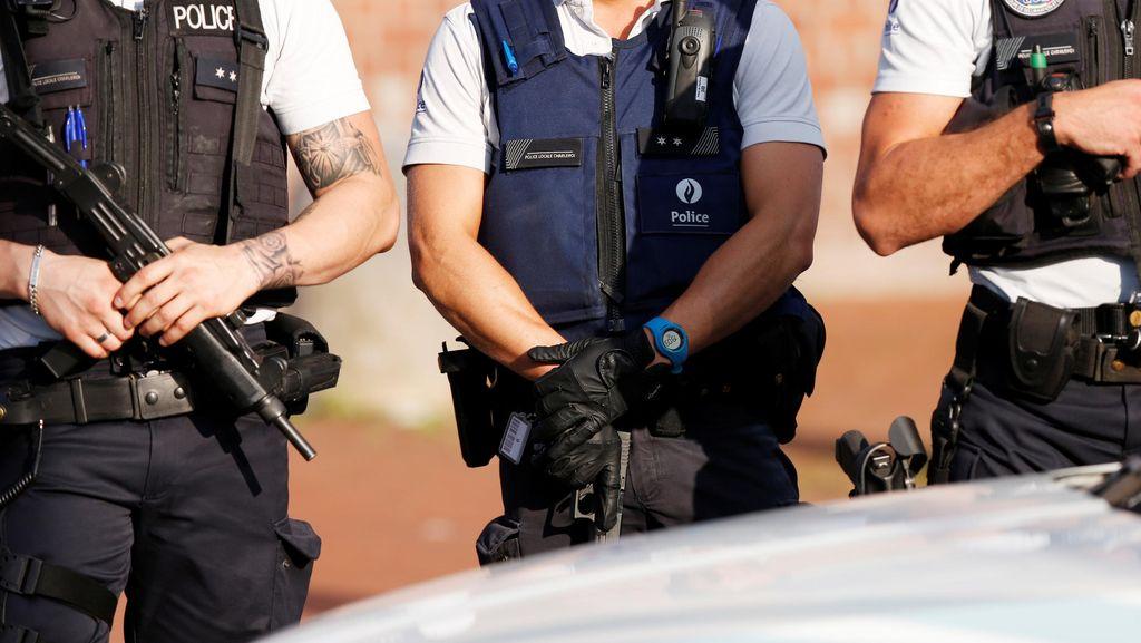 Sehari Usai Penyerangan 2 Polwan, Pria Bergolok Ditangkap Polisi Belgia