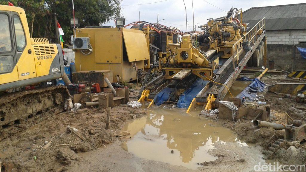 Siap Tanggung Jawab, Kontraktor Jelaskan Penyebab Semburan Lumpur Marunda