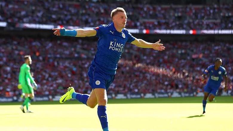 Vardy Tetap Bertahan Bersama Leicester