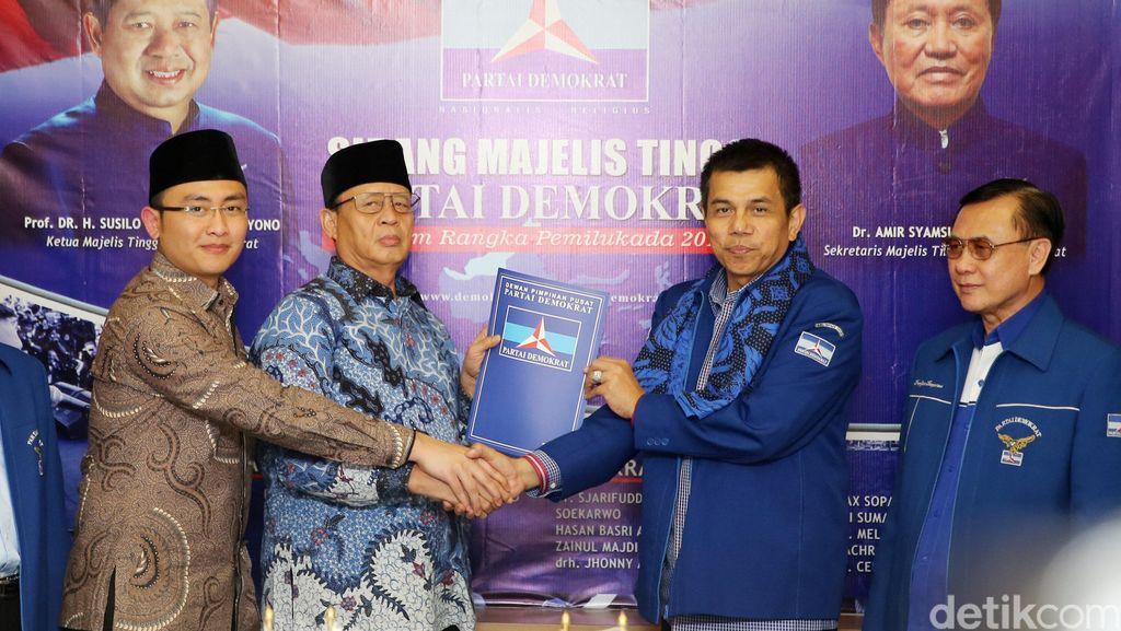 Gandeng Golkar-Hanura, PD Usung Wahidin-Andika Hazrumy di Pilgub Banten