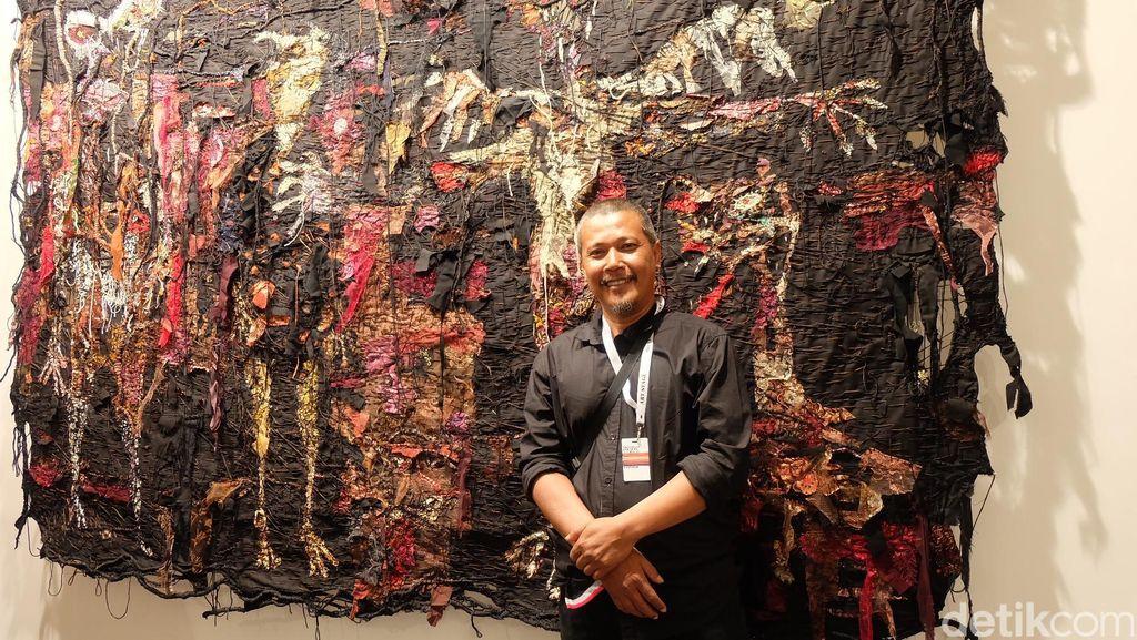 Gatot Pujiarto, Seniman yang Eksis dengan Lukisan Permadani Figuratif