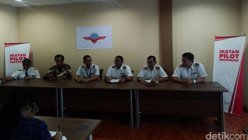 Ikatan Pilot Indonesia Tolak Kriminalisasi Terhadap Pilot Lion Air