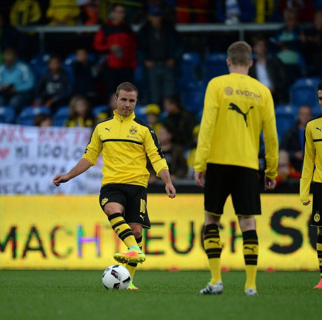 Dortmund yang Paling Tahu Bagaimana Memperlakukan Goetze