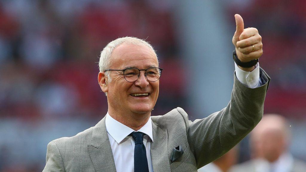 Ranieri: Leicester Akan Nikmati Tekanan Old Trafford