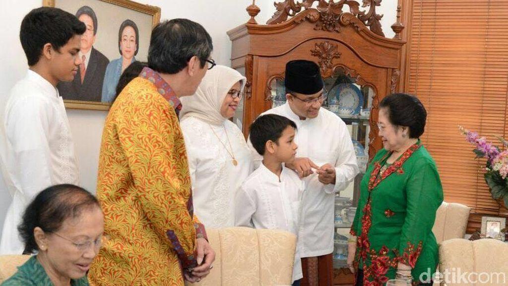 Kisah Kedekatan Anies Baswedan dengan Megawati dan Keluarga Bung Karno