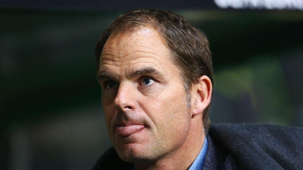 Hujan Deras Tunda Debut De Boer di Inter
