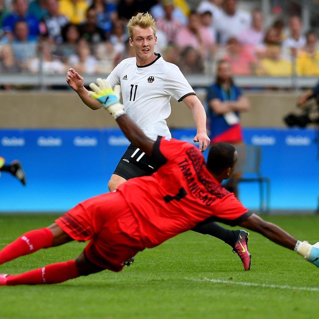Jerman Lolos Usai Lumat Fiji 10-0