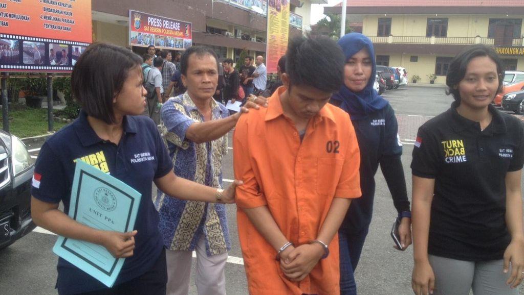 Pria Medan yang Bunuh Bayi Hubungan Gelap Dibekuk setelah 4 Bulan Buron