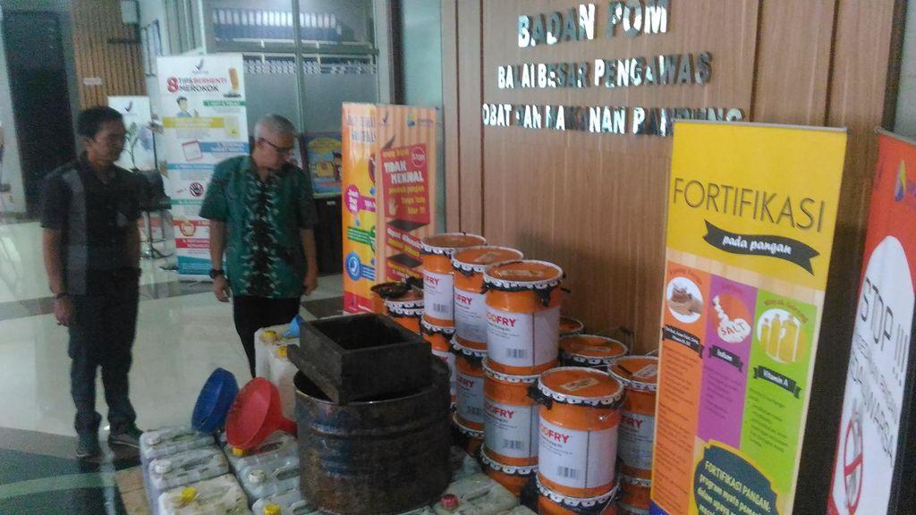BBPOM Bandung Gerebek Produsen Jelantah