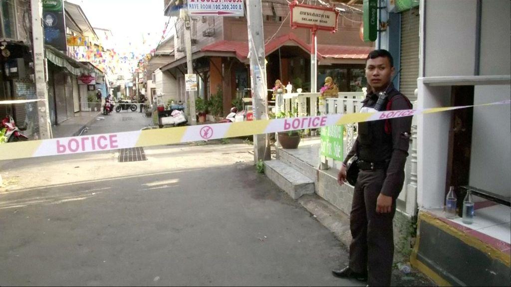 15 Tersangka Rentetan Ledakan Bom Thailand Ditahan di Barak Militer