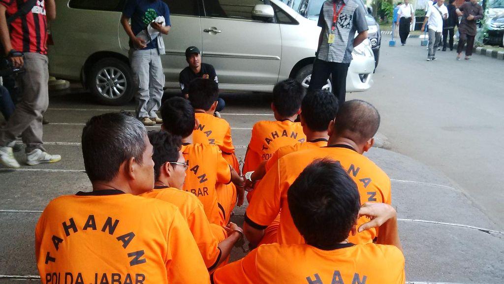 Polda Jabar Bekuk 11 Orang Sindikat Curanmor Lintas Daerah
