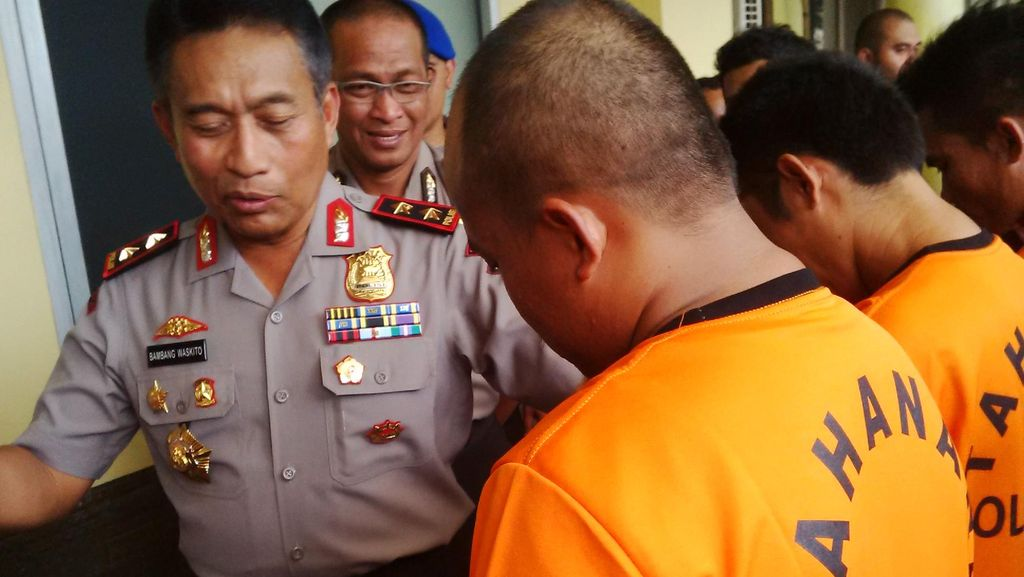 Kawanan Pencuri Mobil Jaringan Lampung Diringkus Polda Jabar