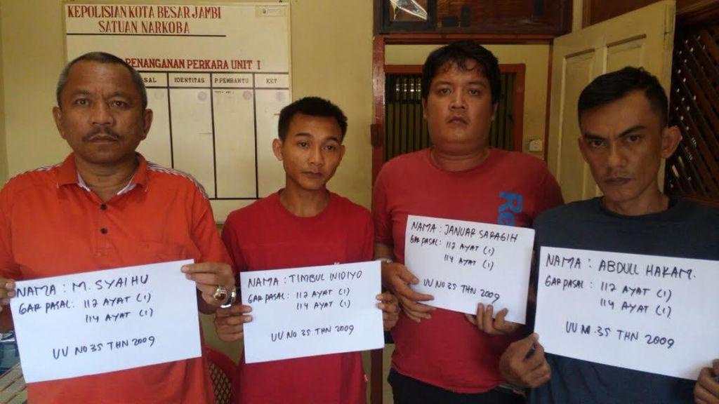 Polisi Tetapkan Ketua DPRD Sarolangun Jadi Tersangka Kasus Narkoba