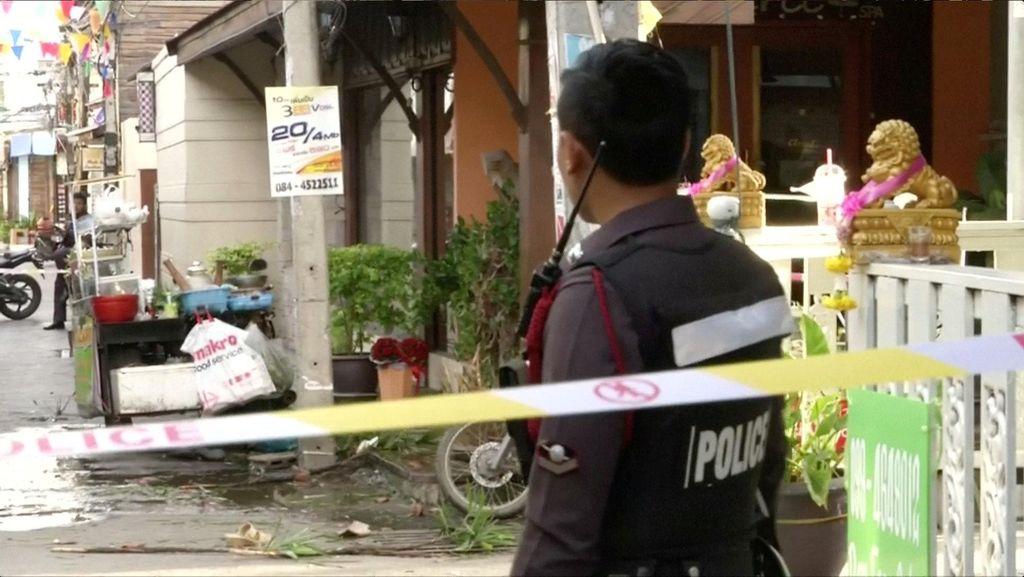 Dua Bom Meledak di Thailand, 1 Orang Tewas dan 30 Luka
