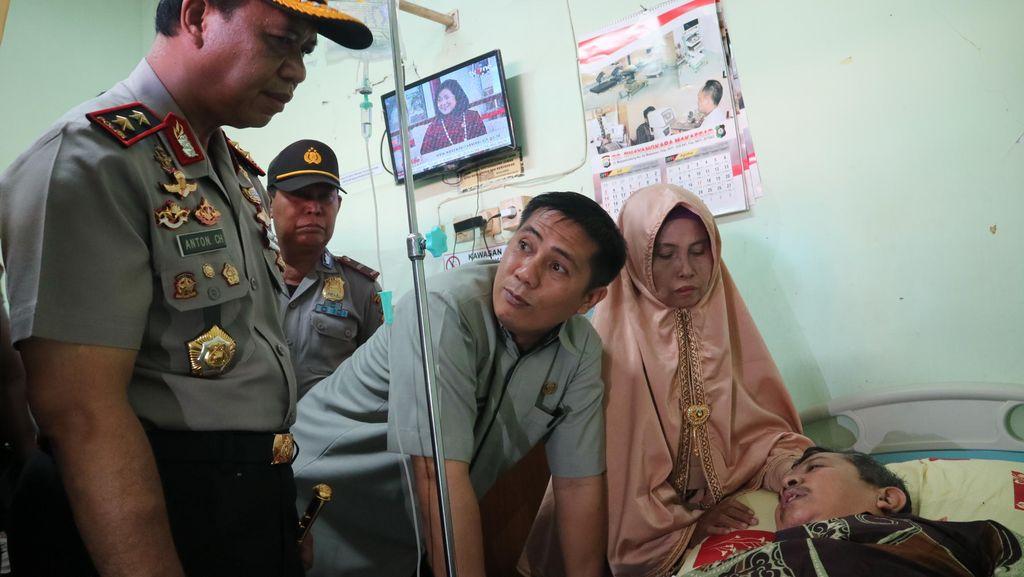 Kondisi Guru Dasrul setelah 2 Hari di RS: Masih Diinfus, Penglihatan Kabur