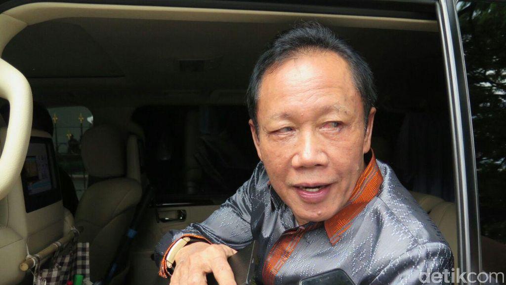 Sutiyoso Tiba-tiba Temui Jokowi di Istana: Aku Menghadap, Bukan Dipanggil