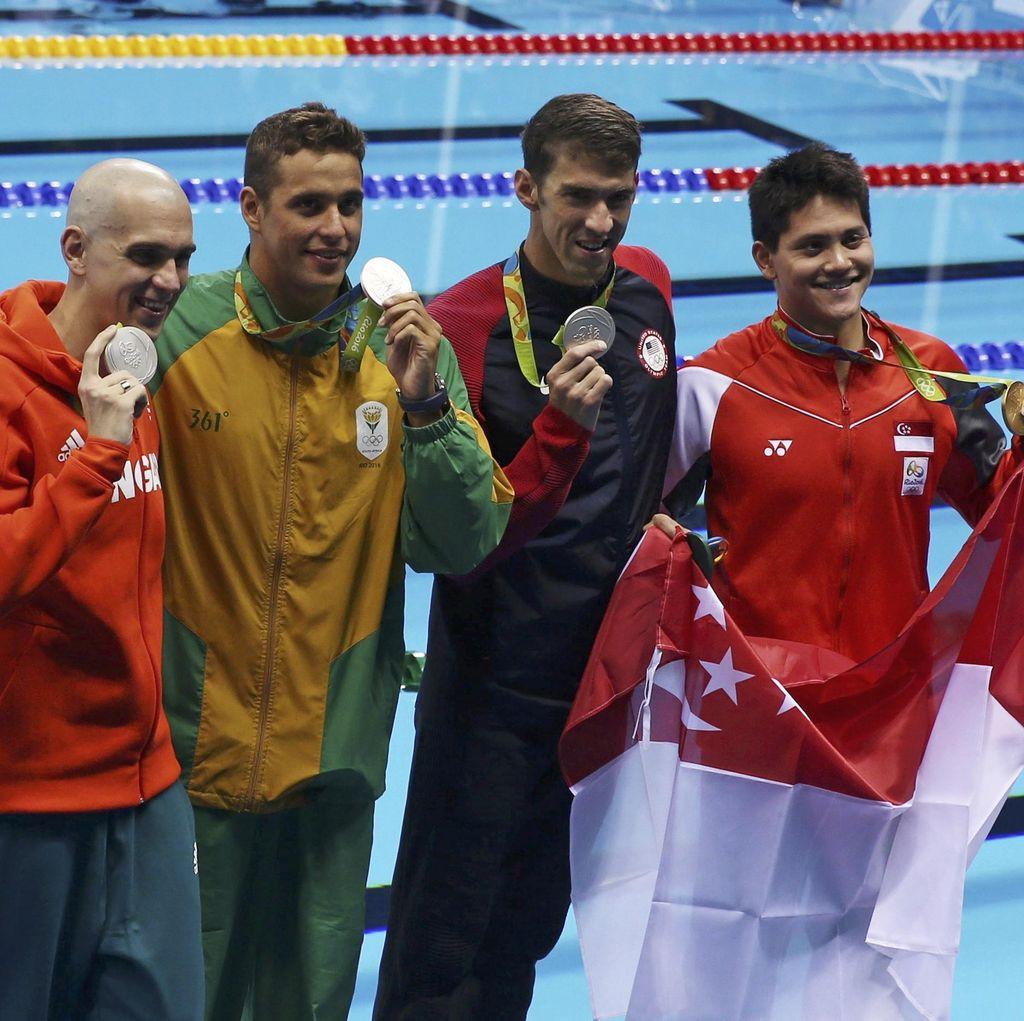 Singapura dan Negara-Negara Lain yang Raih Emas Olimpiade Pertama di Rio