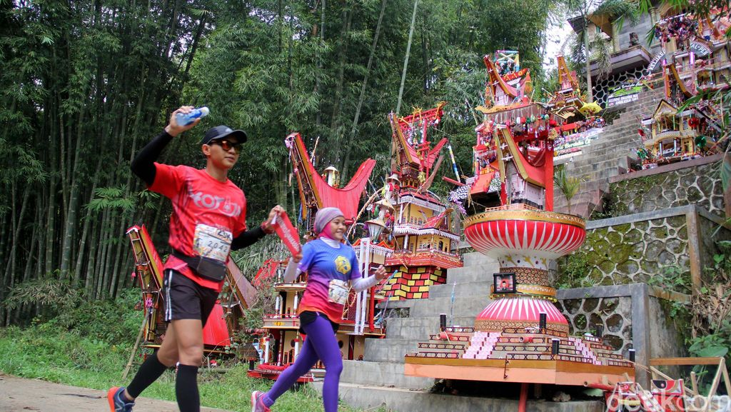 Ratusan Peserta Ikuti Lomba Lari Toraja Marathon