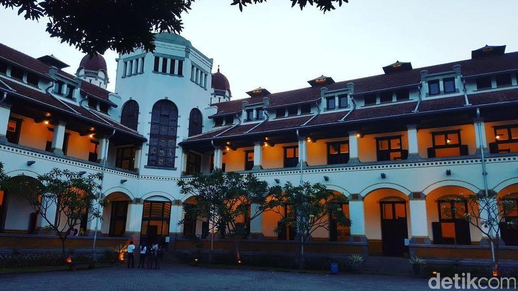 Tak Boleh Lagi Ada Wisata Mistis di Lawang Sewu Semarang