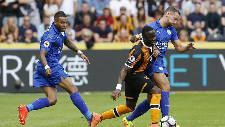 Hull Ungguli Leicester 1-0 Saat Half Time