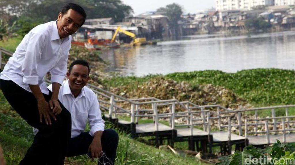 Perjalanan Anies dan Jokowi dari Pilpres Hingga Reshuffle Menteri