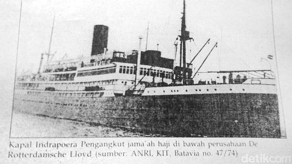 Berlayar Melalui Samudera Hindia Hingga Laut Merah untuk Berhaji