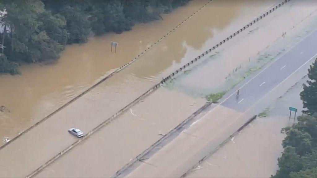 Obama Tetapkan Keadaan Darurat Banjir Louisiana, 7 Ribu Orang Dievakuasi