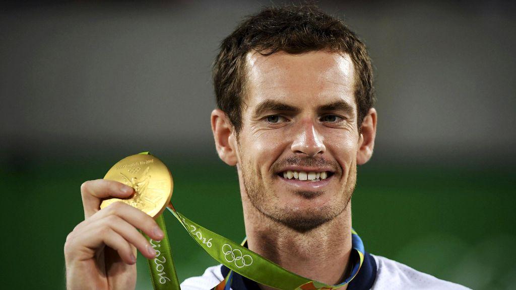 Andy Murray Raih Medali Emas