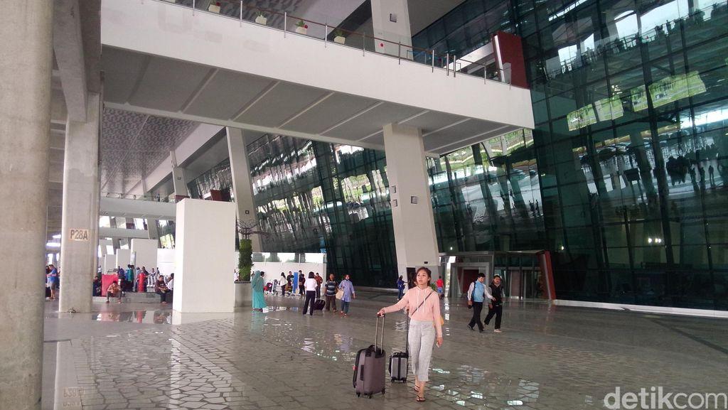 AP II Gerak Cepat Benahi Drainase di Terminal 3 Ultimate