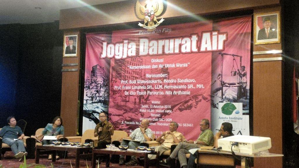 Pembangunan Hotel Menjamur, Kota Yogyakarta Defisit Air