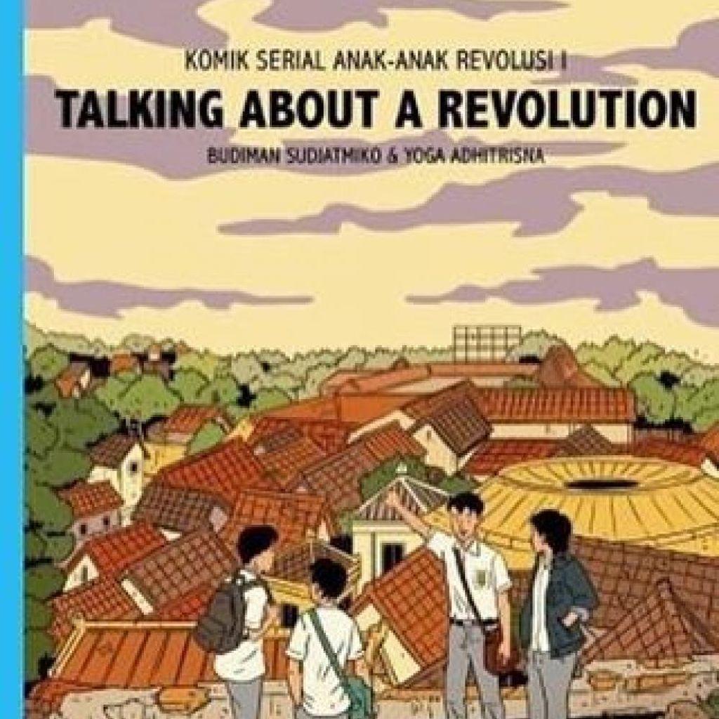 Budiman Sudjatmiko Rilis Komik Serial Anak-anak Revolusi
