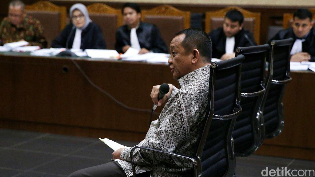 Bersaksi di Sidang Suap Panitera PN Jakpus, Nurhadi Bantah Dirinya Promotor