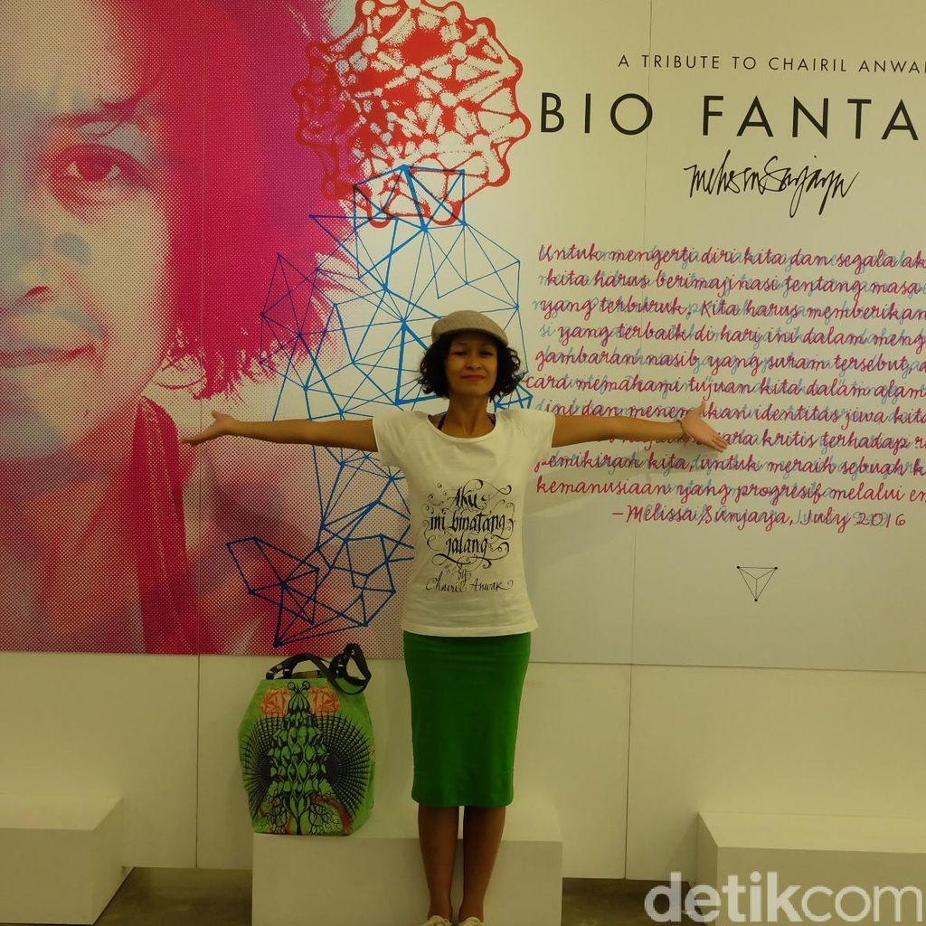 Pameran Bio Fantasy Karya Seniman Visual Melissa Sunjaya Resmi Dibuka