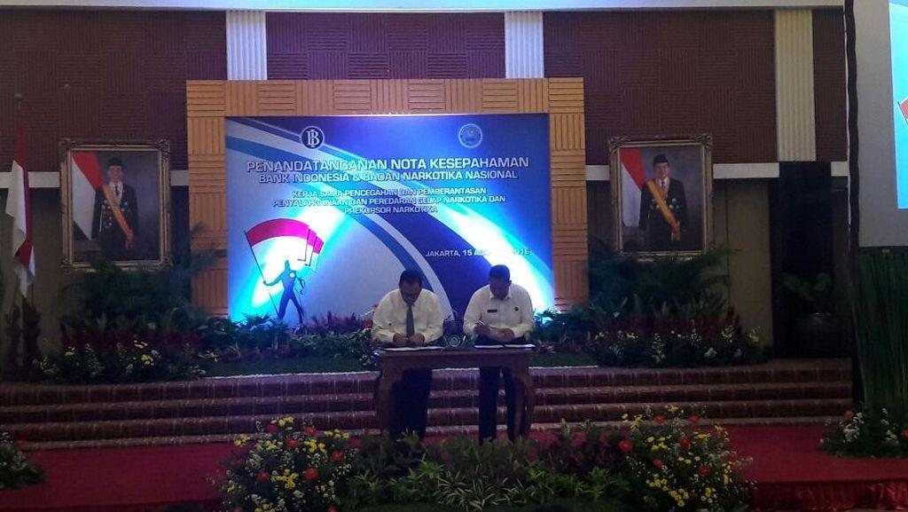 BNN Gandeng Bank Indonesia Cegah Perluasan Transaksi Perdagangan Narkoba
