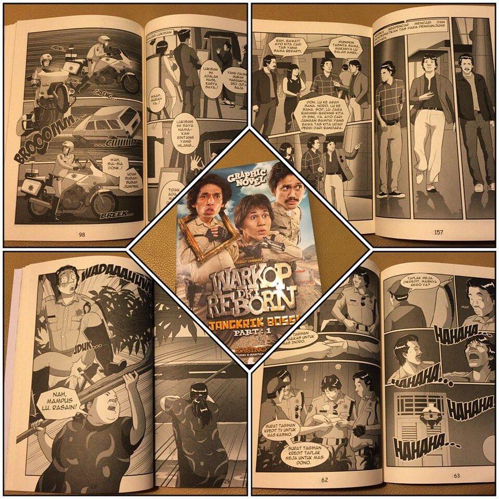 Novel Grafis Warkop DKI Reborn Diluncurkan