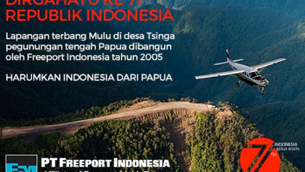 Lapangan Terbang Mulu Bantu SDM Daerah Terpencil di Papua