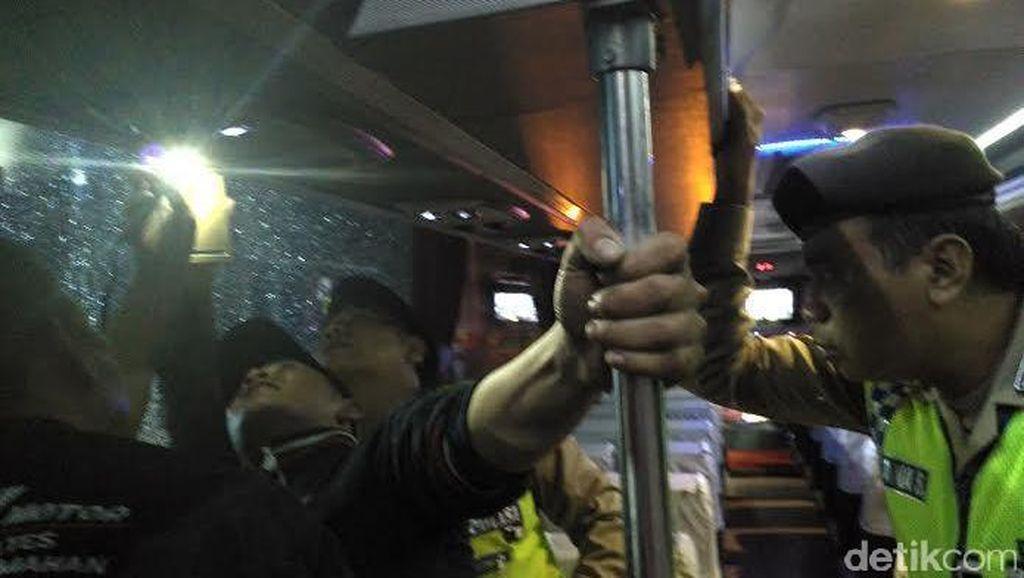 Sejumlah Bus di Kediri Jadi Korban Penembakan Misterius