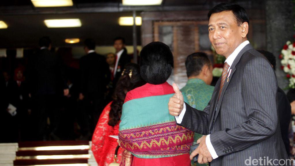 Hadir di Acara Golkar, Wiranto: Saya Seperti Kembali ke Habitat