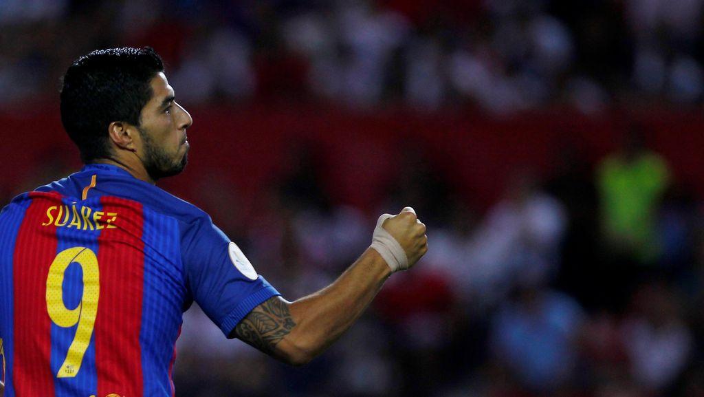 Bursa Top Skorer: Bisakah Suarez Ganggu Dominasi Ronaldo-Messi Lagi?