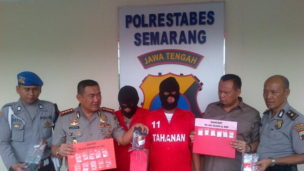 Polisi Tangkap 2 Pengedar Sabu di Semarang, Telusuri Dugaan Jaringan di Lapas